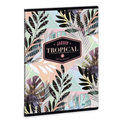 ARS UNA füzet A/4 40 lapos vonalas Tropical Leaf