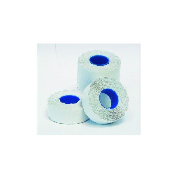 Árazószalag 25x16mm fehér