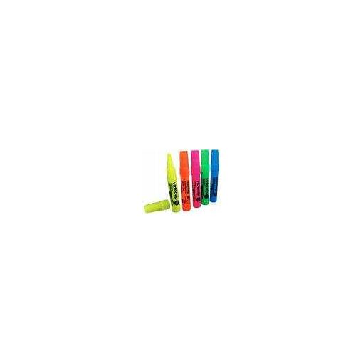 ICO szövegkiemelő Videotip 1-4mm, Fluor narancssárga