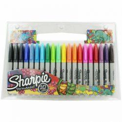 SHARPIE Fine Permanent marker készlet 20db