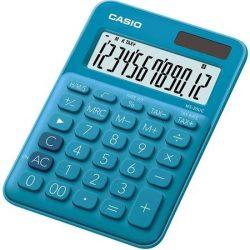 CASIO MS-20 UC asztali számológép 12 számjegy kék