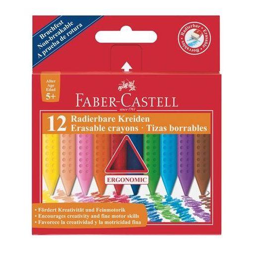 FABER-CASTELL Grip zsírkréta háromszögletű 12db