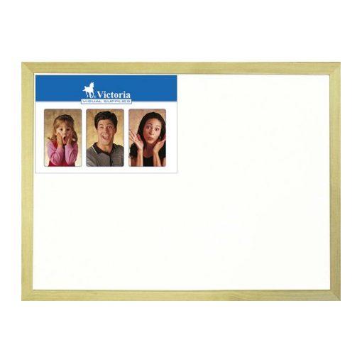 Fakeretes törölhető fehér tábla 60x90cm