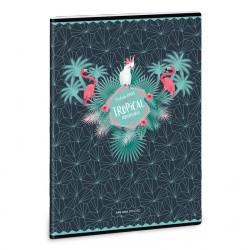 ARS UNA Flamingo füzet A/4 40 lapos vonalas
