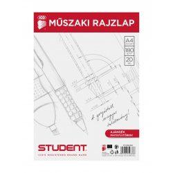 ICO Student műszaki rajzlap A/4, 20db