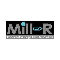 Határidőnapló, agenda 2019. évi B/6 heti Wind szürke-mályva