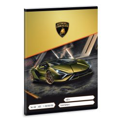 ARS UNA füzet A/5 32 lapos I. osztályos vonalas, Lamborghini 14-32