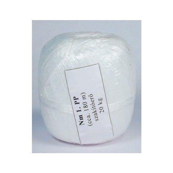 Fehér polipropilén zsineg 200gr
