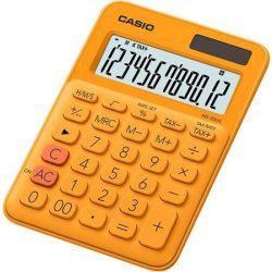 CASIO MS-20 UC asztali számológép 12 számjegy narancssárga