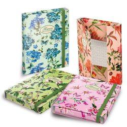 PIGNA Nature Flowers A/4 füzetbox 3cm széles