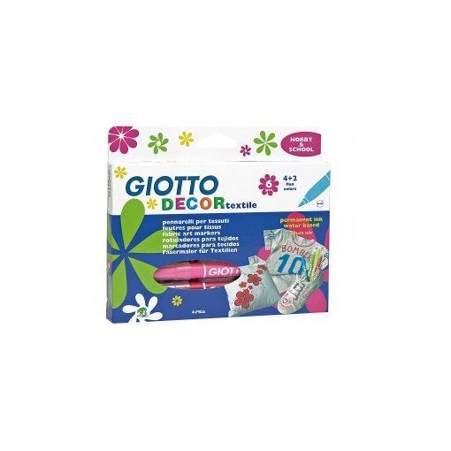GIOTTO Decor textilfilc készlet 6db