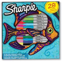 SHARPIE Fine+Ultra Fine Permanent marker készlet 28db