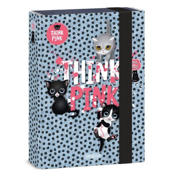 ARS UNA füzetbox  A/5 Think Pink