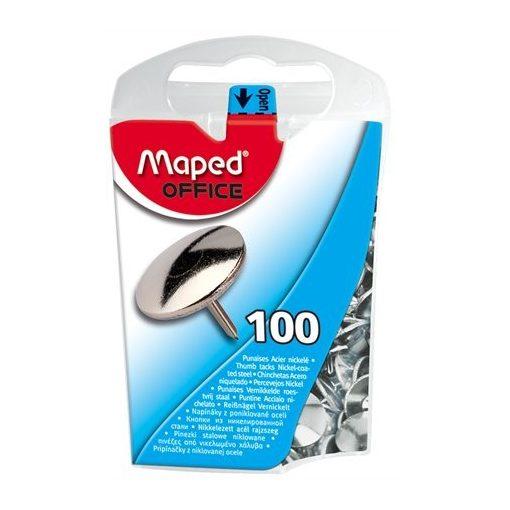 MAPED rajzszeg, rajzszög, nikkel, 100db