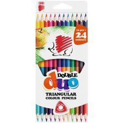 ICO Süni színesceruza 12db duo