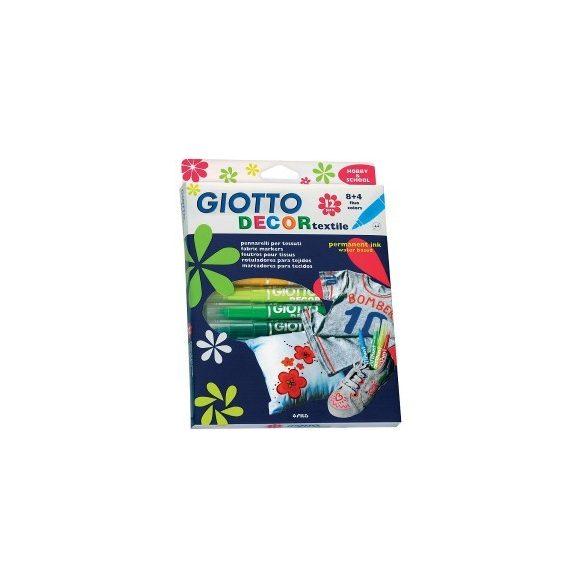 GIOTTO Decor textilfilc készlet 12db