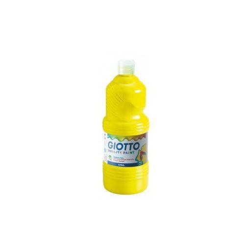 GIOTTO tempera 500ml sárga