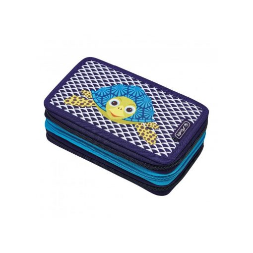 HERLITZ tolltartó 3 emeletes, Pink Cube, töltött, 31 részes