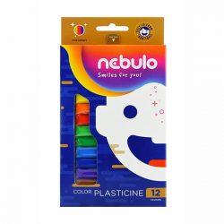 NEBULÓ gyurma színes 12 db