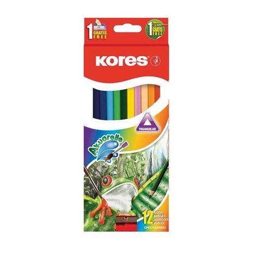KORES színesceruza akvarell 12db-os