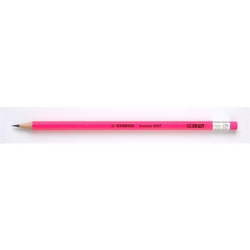 Grafitceruza STABILO neon rózsaszín