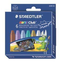 STAEDTLER Noris Club zsírkréta 6db metál