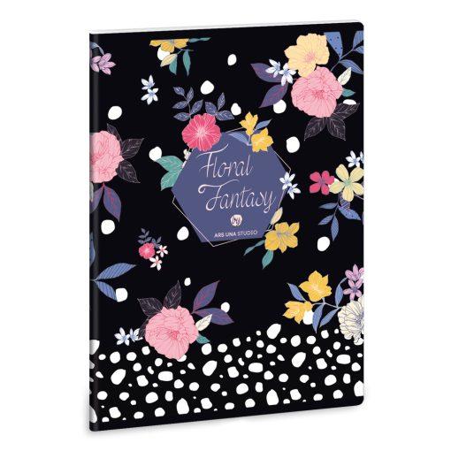 ARS UNA Floral Prism füzet A/5 40 lapos szótár