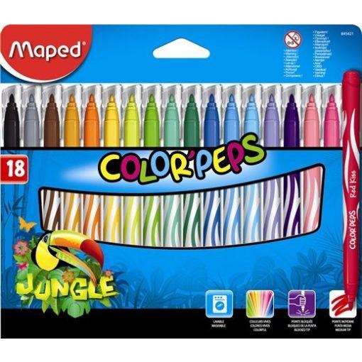 MAPED Color'Peps 18db mosható filctoll
