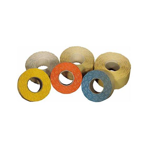 Árazószalag 22x12mm színes