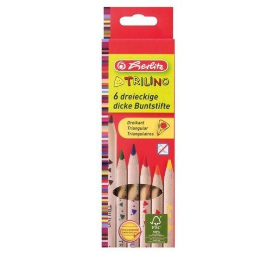 HERLITZ színesceruza Trilino jumbo háromszögletű 6db