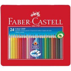 FABER CASTELL Grip színesceruza 24db fémdobozban
