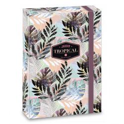 ARS UNA füzetbox  A/5 Tropical Leaf