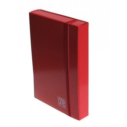 Füzetbox A/4 BLASETTI One piros