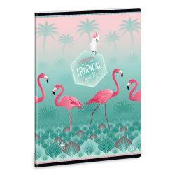 ARS UNA Pink Flamingo extra füzet A/5 40 lapos szótár 31-32