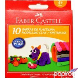 Faber-Castell gyurma színes, 12db, Jumbo