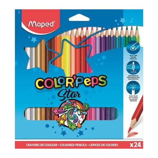 MAPED Color'Peps színesceruza 24db