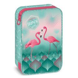 ARS UNA többszintes tolltartó Flamingo