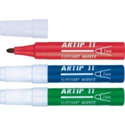 ICO Rostiron Artip 11 filctoll 1-3mm, kúpos, piros