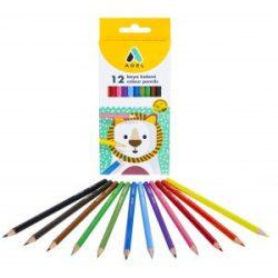 ADEL színesceruza 12db hatszögletű