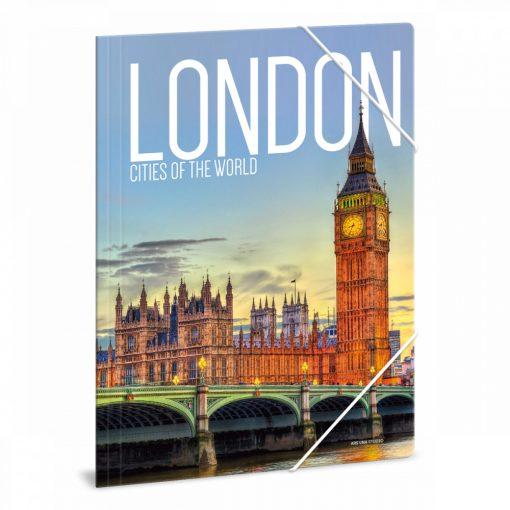 ARS UNA gumis mappa A/4 London