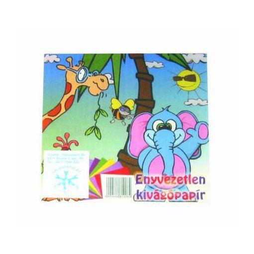 Kivágólap színes 15x15cm 10db/csomag