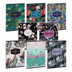ARS UNA füzet A/5 40 lapos szótár Tropical Leaf