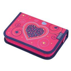 HERLITZ tolltartó Pink Hearts, töltött, 31 részes