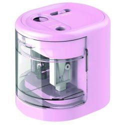 RAPESCO asztali hegyező, elemes, USB töltővel, rózsaszín