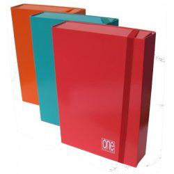 Füzetbox A/4 BLASETTI One narancssárga 7cm