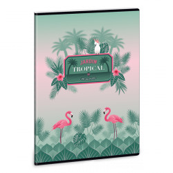 ARS UNA Pink Flamingo füzet A/4 40 lapos sima