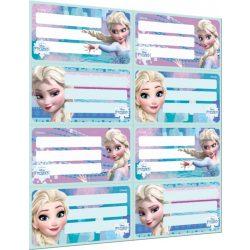 Lizzy Card füzetcímke Frozen 8 címke/lap