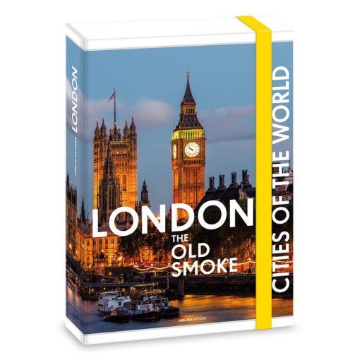 ARS UNA füzetbox  A/5 London