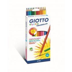 GIOTTO Elios színesceruza 24db-os háromszögletű