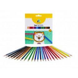 ADEL színesceruza 24db hatszögletű